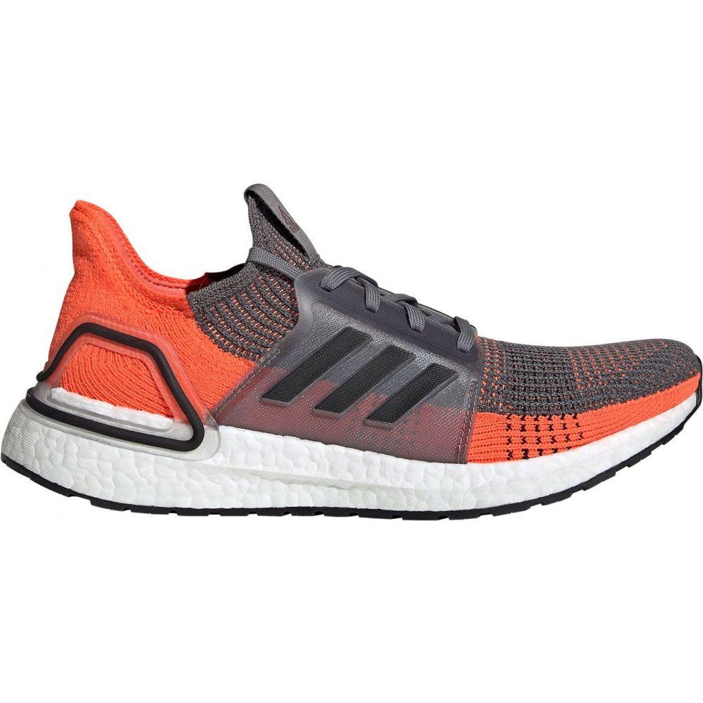 アディダス adidas メンズ ランニング・ウォーキング シューズ・靴【Ultraboost 19 Running Shoes】Grey/Orange/Black