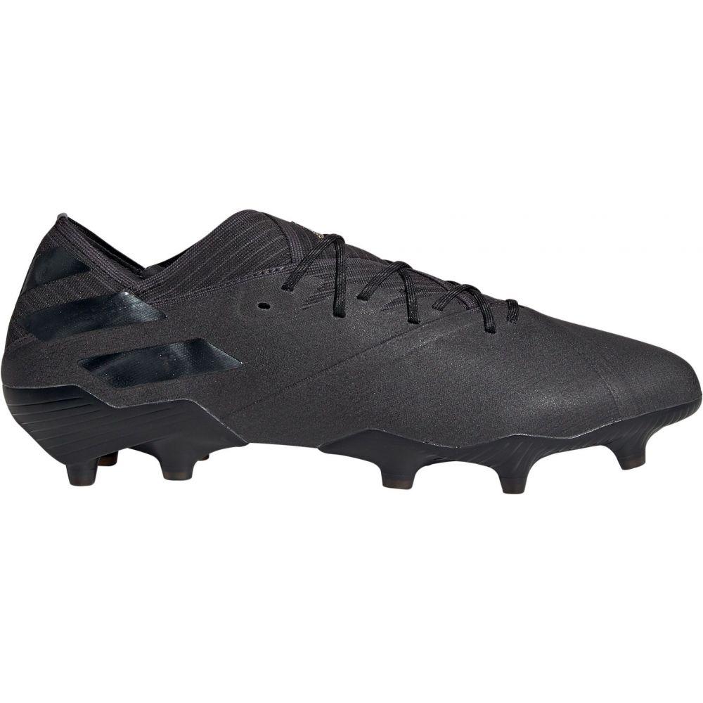 アディダス adidas メンズ サッカー スパイク シューズ・靴【Nemeziz 19.1 FG Soccer Cleats】Black/Black