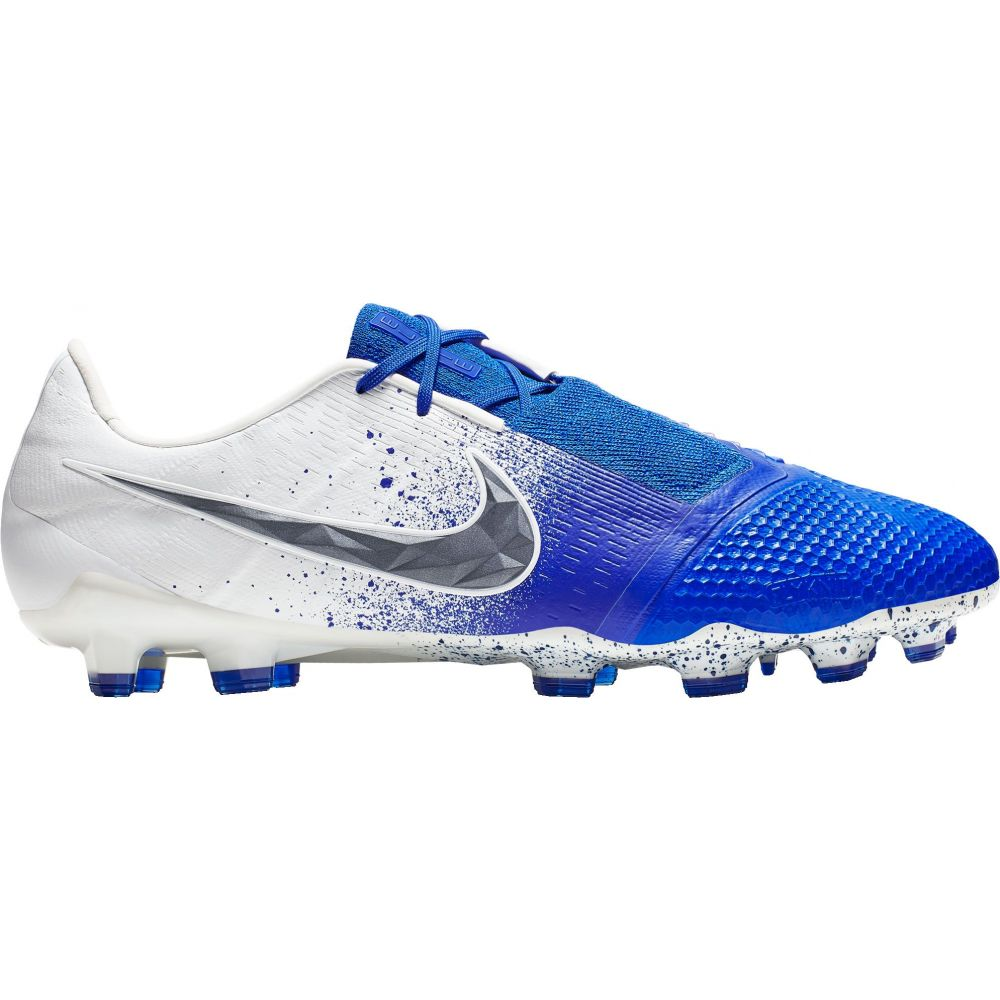 ナイキ Nike メンズ サッカー スパイク シューズ・靴【Phantom Venom Elite FG Soccer Cleats】White/Blue
