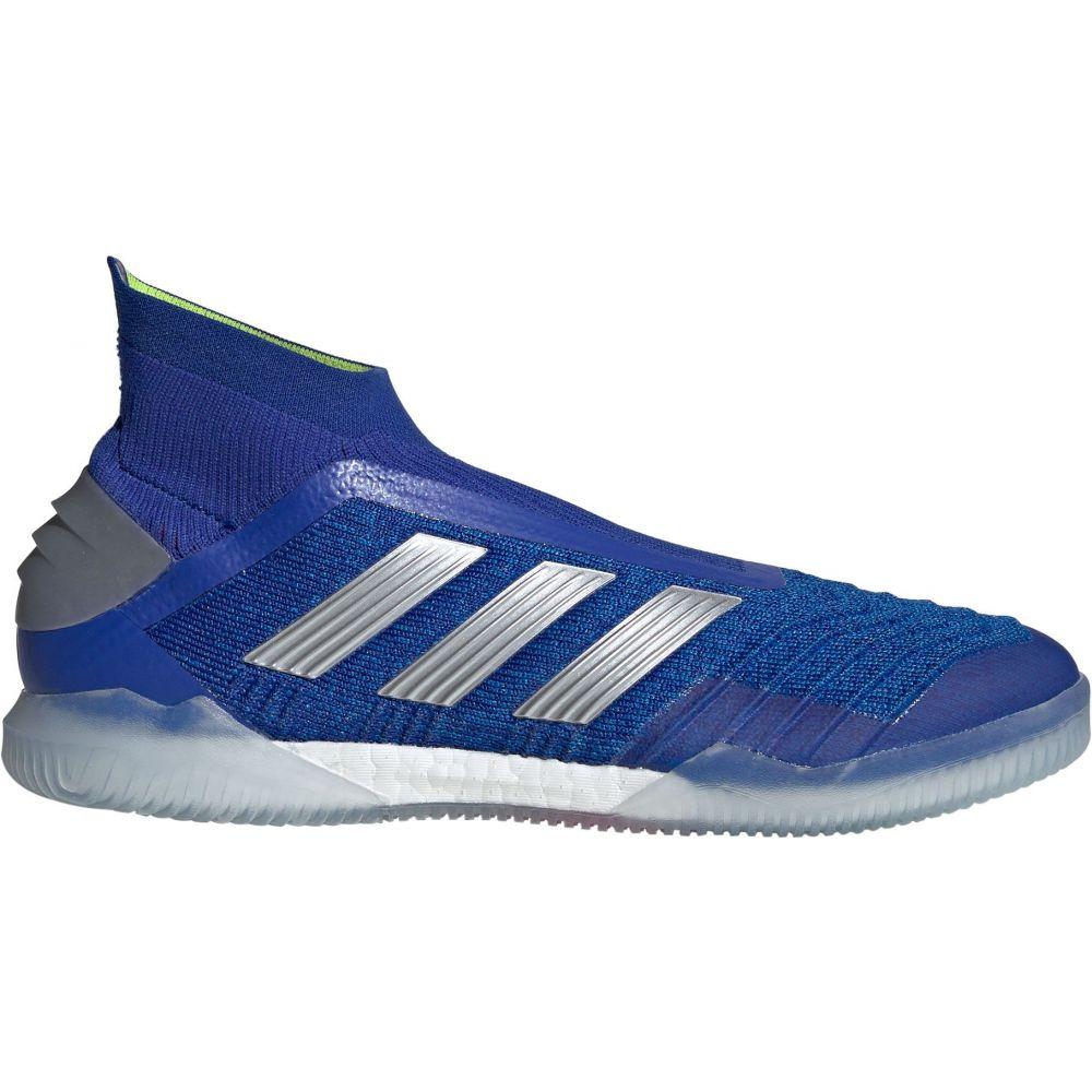 アディダス adidas メンズ サッカー シューズ・靴【Predator 19+ Indoor Soccer Shoes】Blue/Silver