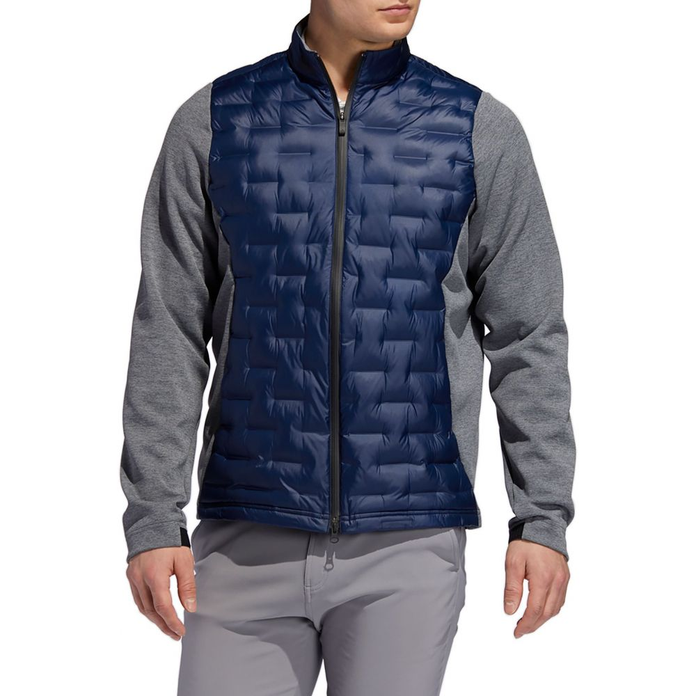 アディダス adidas メンズ ゴルフ ジャケット アウター【Frostguard Insulated Golf Jacket】Collegiate Navy
