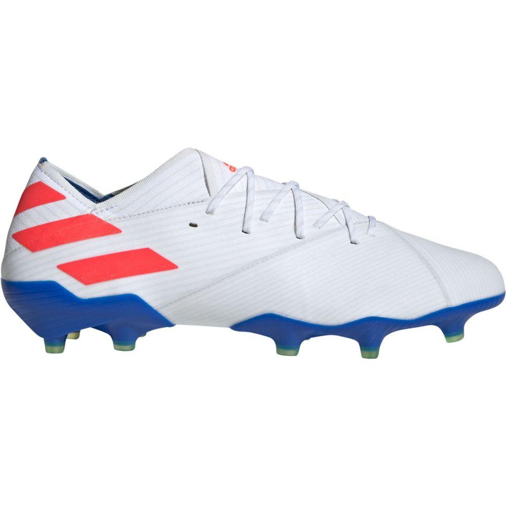 アディダス adidas メンズ サッカー スパイク シューズ・靴【Nemeziz Messi 19.1 FG Soccer Cleats】White/Blue