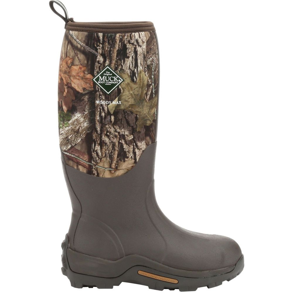 マックブーツ Muck Boots メンズ ブーツ シューズ・靴【Woody Max Insulated Rubber Hunting Boots】Mossy Oak Brk Up Country