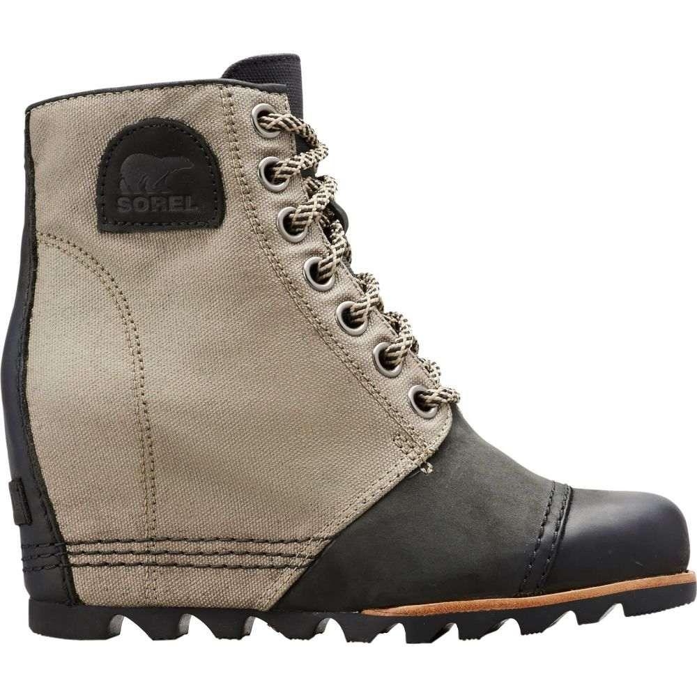 ソレル SOREL レディース ブーツ ウェッジソール シューズ・靴【PDX Wedge Boots】Black/Tan