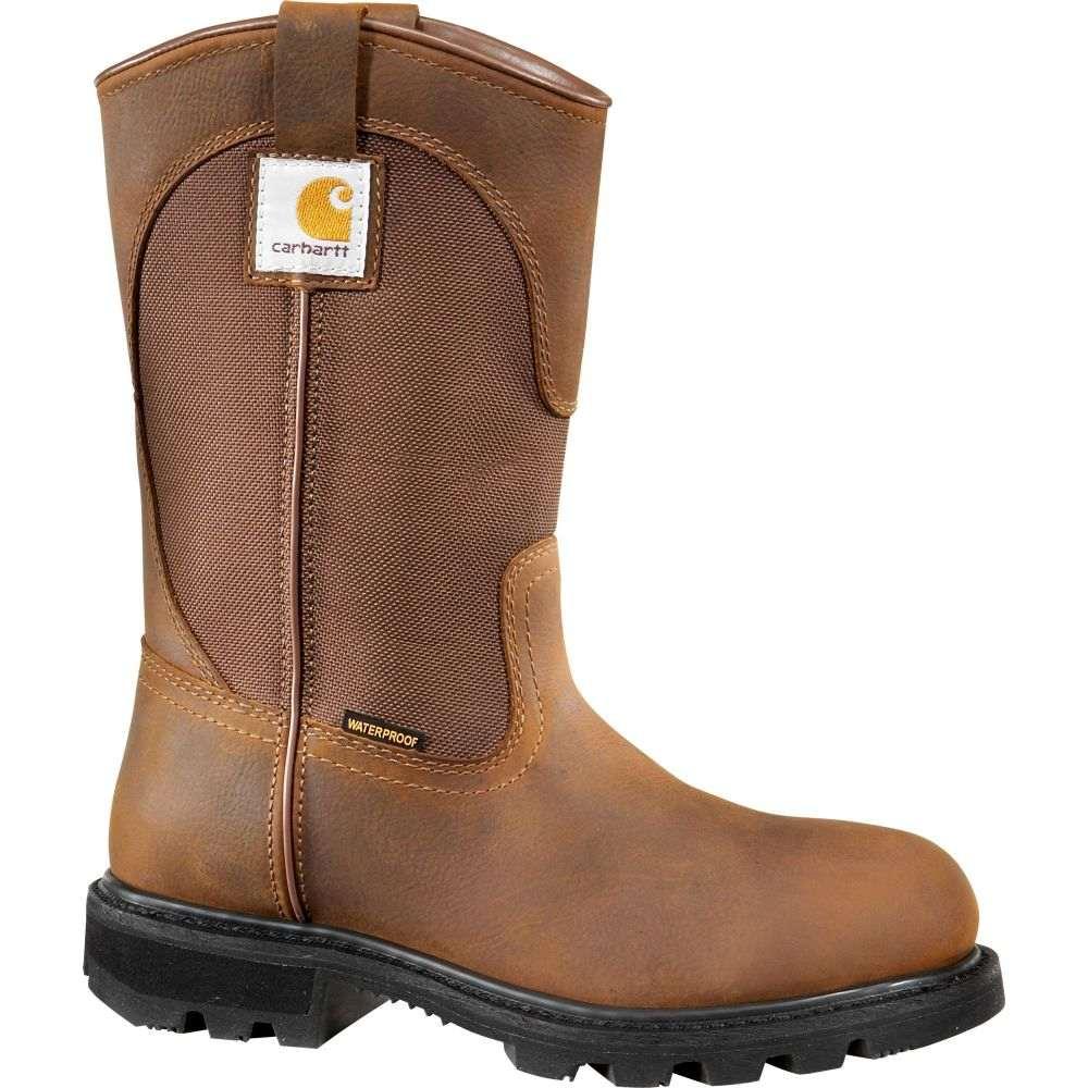 カーハート Carhartt レディース ブーツ ウェリントンブーツ ワークブーツ シューズ・靴【Wellington 10'' Waterproof Work Boots】Bison