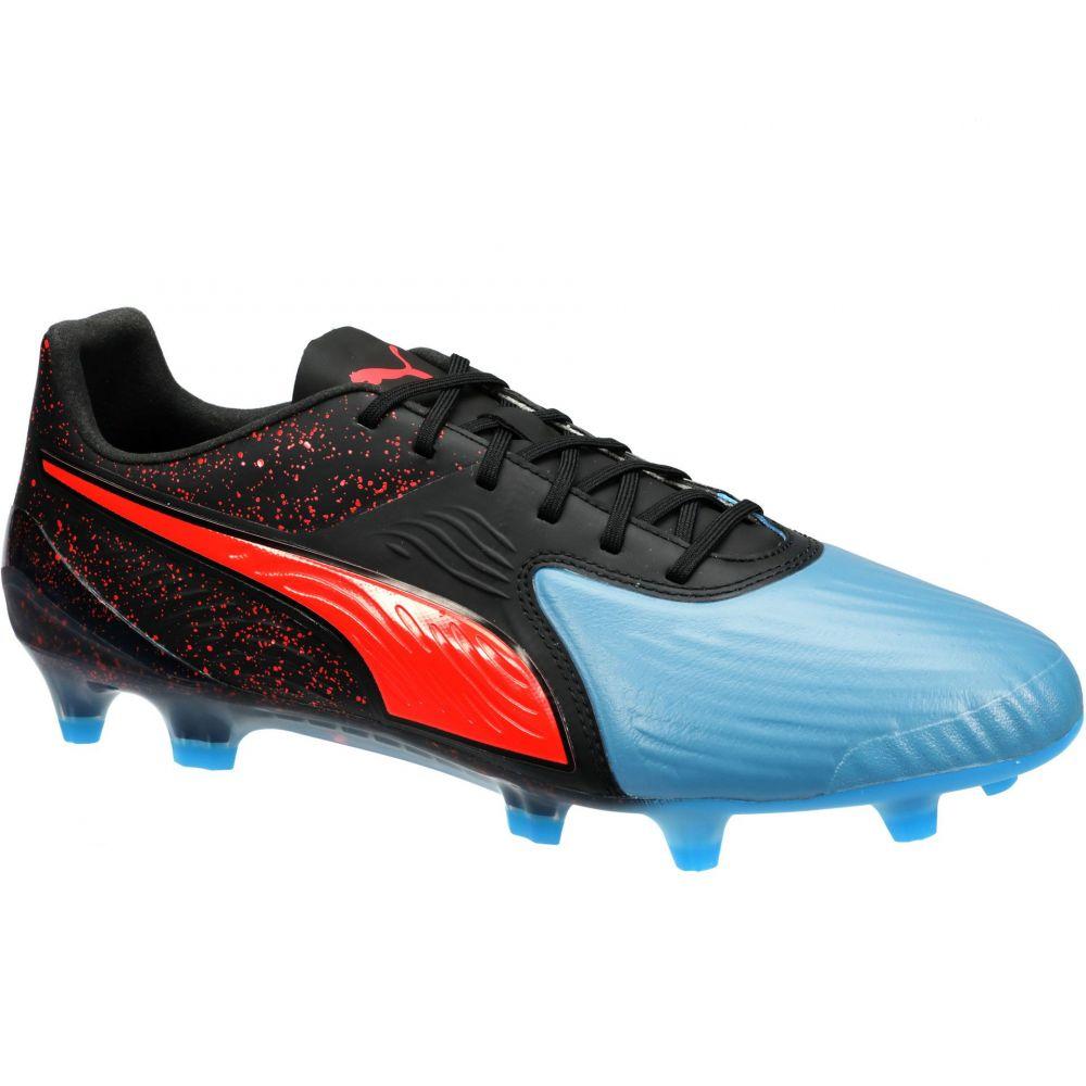 プーマ PUMA メンズ サッカー スパイク シューズ・靴【One 19.1 CC FG/AG Soccer Cleats】Black/Blue