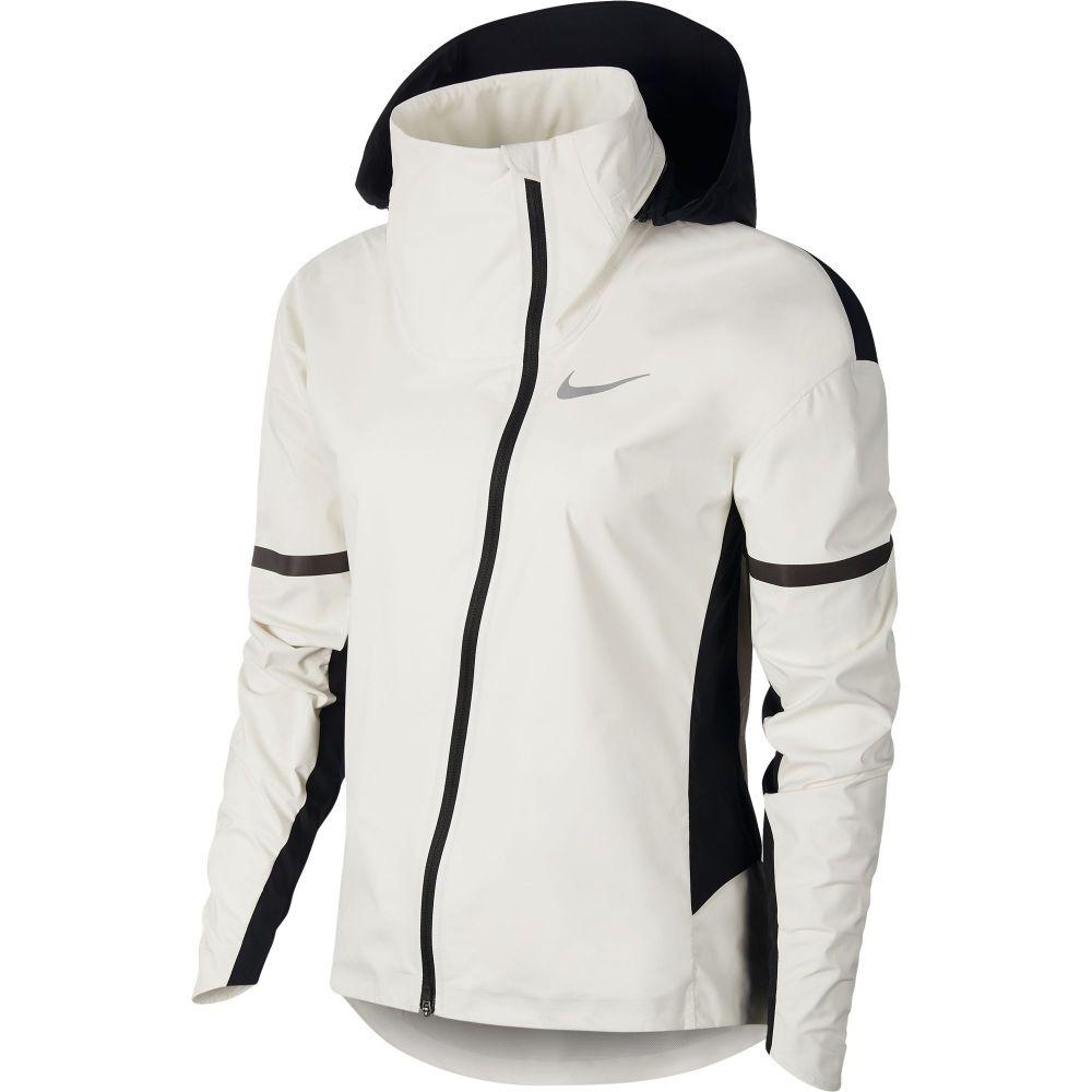 ナイキ Nike レディース ランニング・ウォーキング フード ジャケット アウター【AeroShield Hooded Running Jacket】Sail