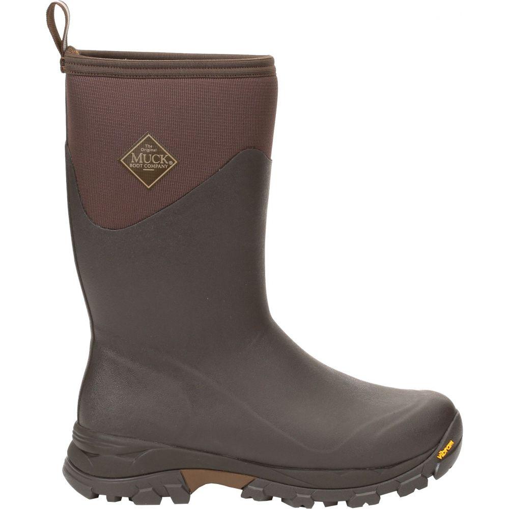 マックブーツ Muck Boots メンズ ブーツ ウインターブーツ シューズ・靴【Arctic Ice Mid Waterproof Winter Boots】Brown/Tan