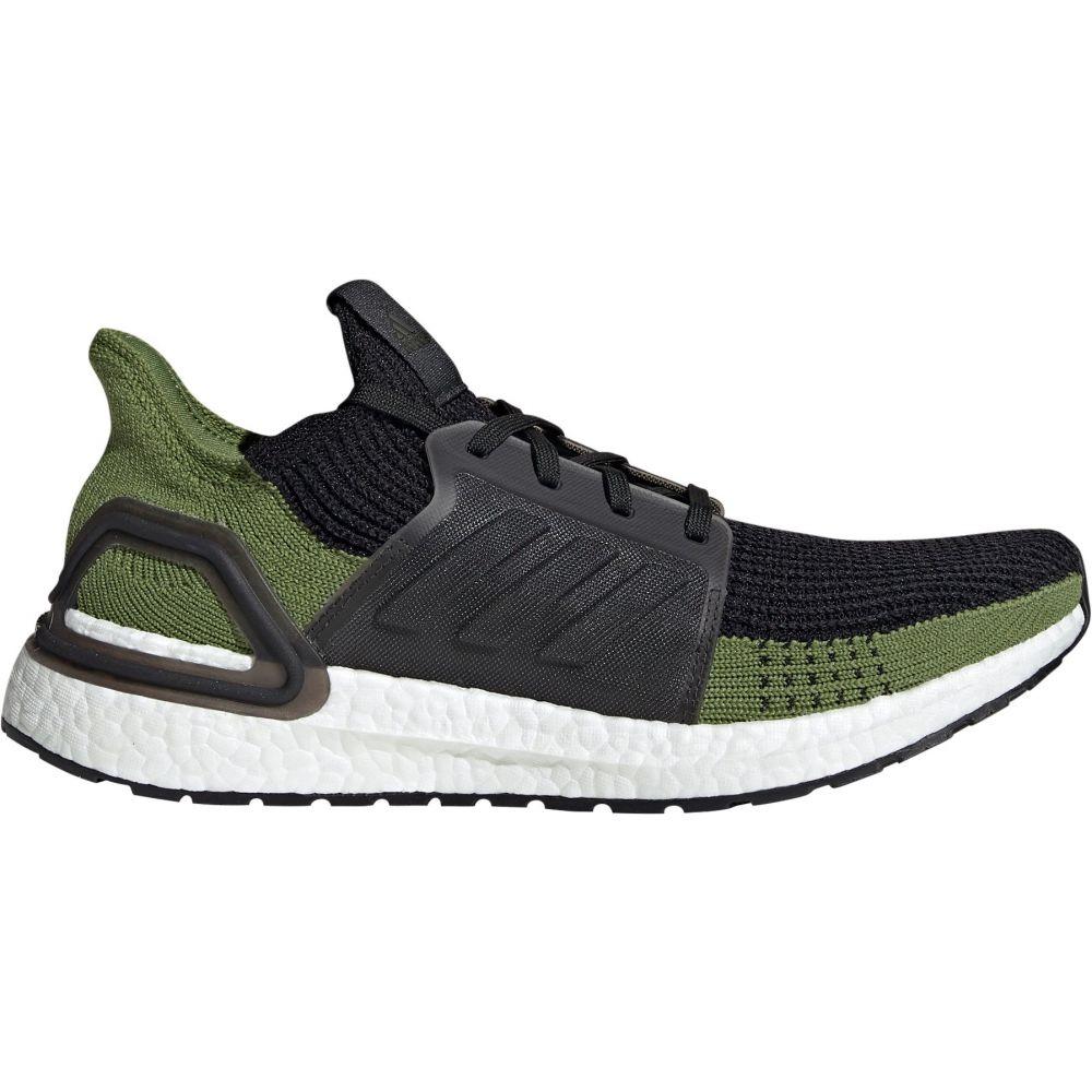 アディダス adidas メンズ ランニング・ウォーキング シューズ・靴【Ultraboost 19 Running Shoes】Black/Olive