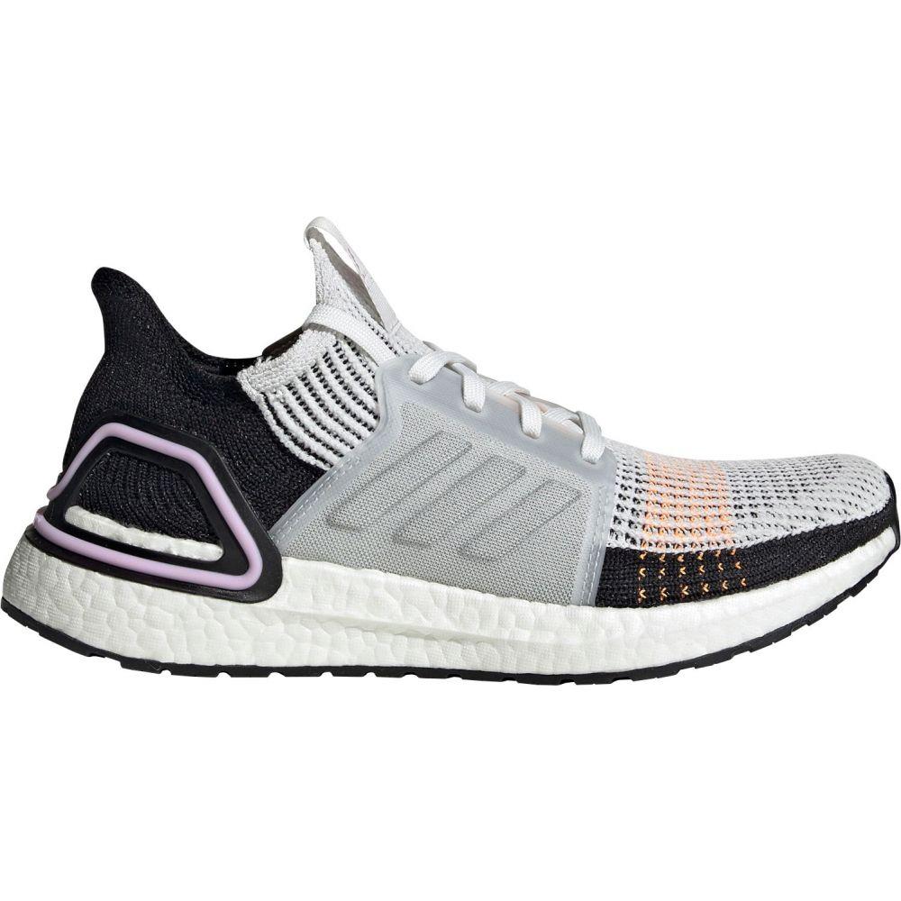 アディダス adidas レディース ランニング・ウォーキング シューズ・靴【Ultraboost 19 Running Shoes】White/Purple/Black
