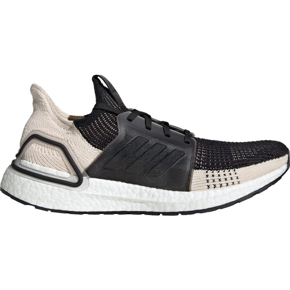 アディダス adidas メンズ ランニング・ウォーキング シューズ・靴【Ultraboost 19 Running Shoes】Linen/Black/White