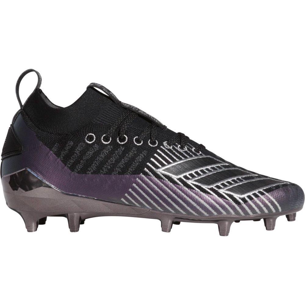 アディダス adidas メンズ アメリカンフットボール スパイク シューズ・靴【adizero 8.0 Primeknit Football Cleats】Black/Silver