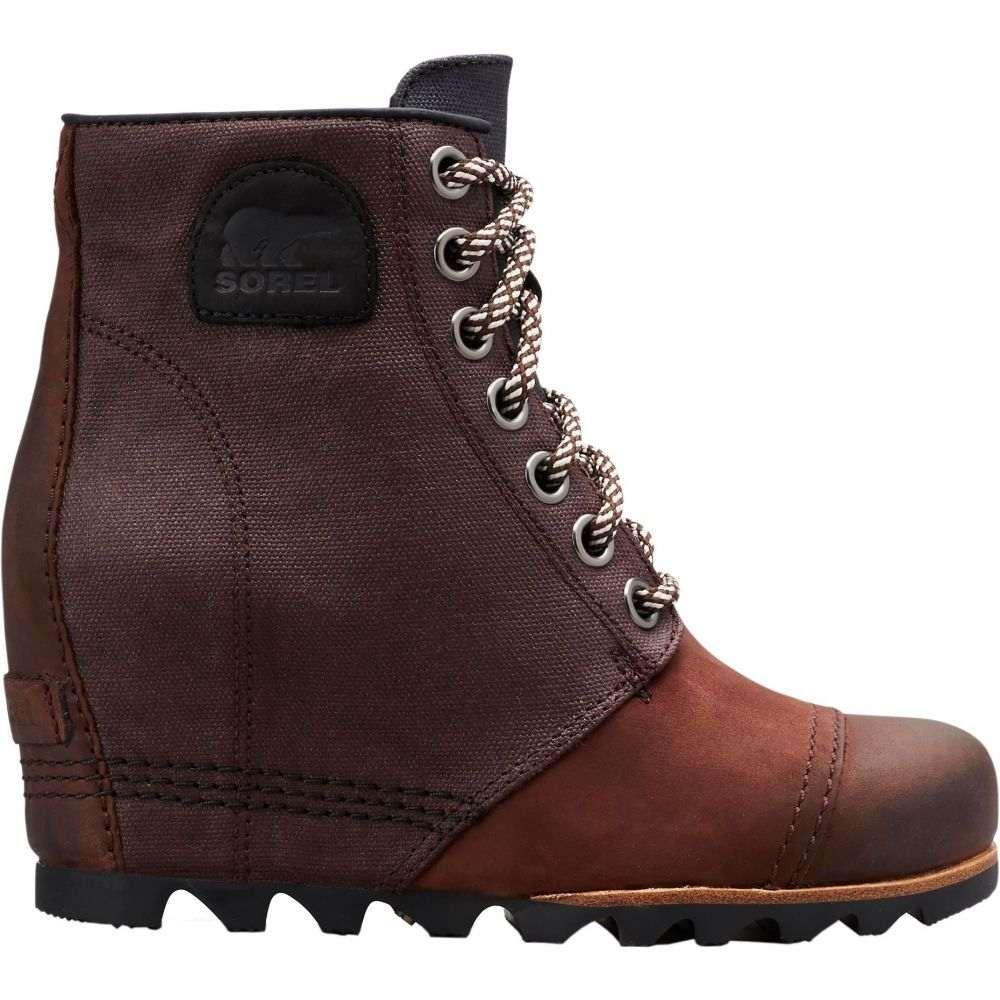 ソレル SOREL レディース ブーツ ウェッジソール シューズ・靴【PDX Wedge Boots】Cattail