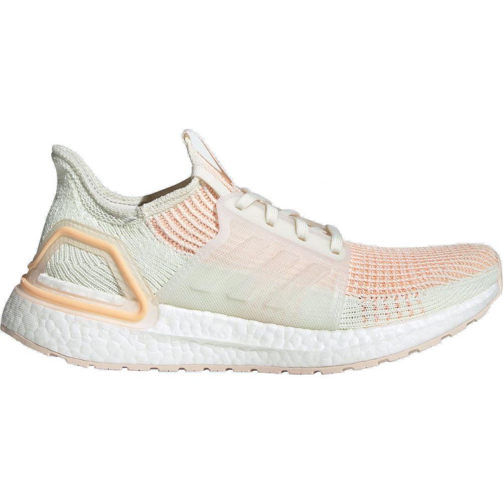 アディダス adidas レディース ランニング・ウォーキング シューズ・靴【Ultraboost 19 Running Shoes】White/Orange/Pink