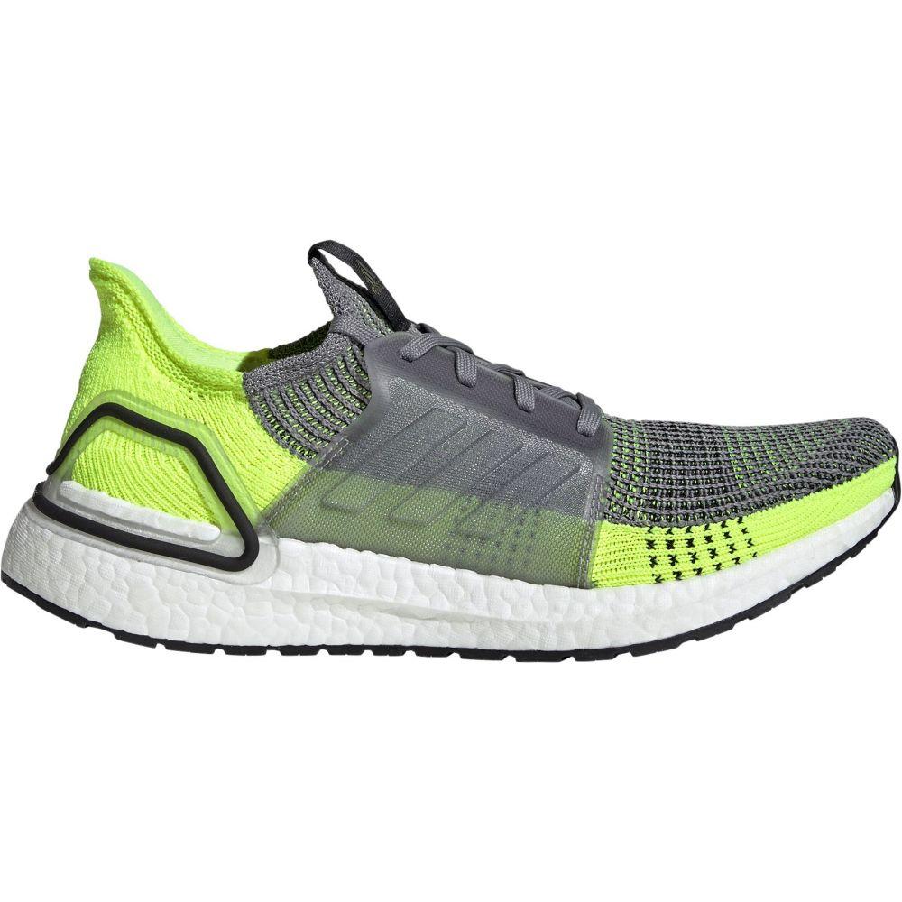 アディダス adidas メンズ ランニング・ウォーキング シューズ・靴【Ultraboost 19 Running Shoes】Grey/Volt