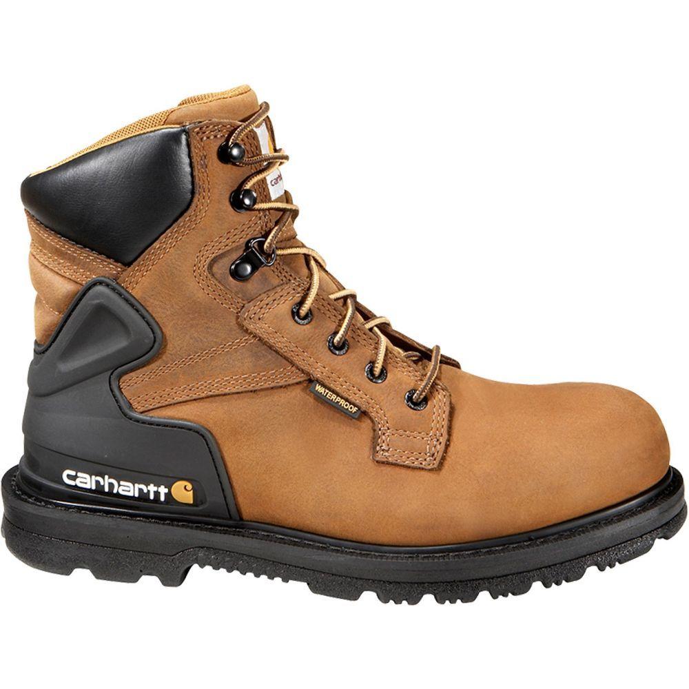 カーハート Carhartt メンズ ブーツ ワークブーツ シューズ・靴【Bison 6'' Waterproof Work Boots】Bison Brown Oil Tanned