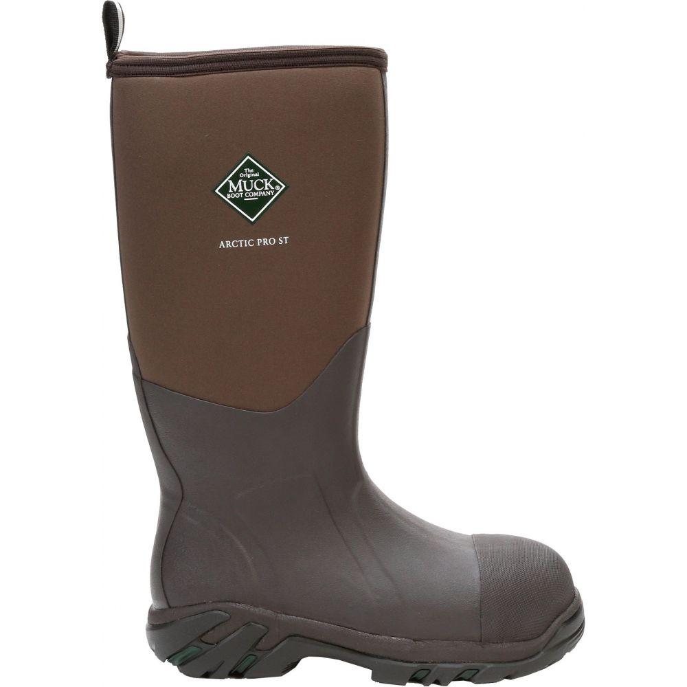 マックブーツ Muck Boots メンズ ブーツ ワークブーツ シューズ・靴【Arctic Pro Steel Toe Waterproof Work Boots】Bark