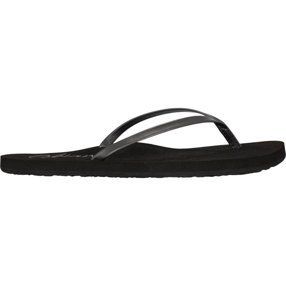 コビアン Cobian レディース ビーチサンダル シューズ・靴【Shimmer Flip Flops】Pewter