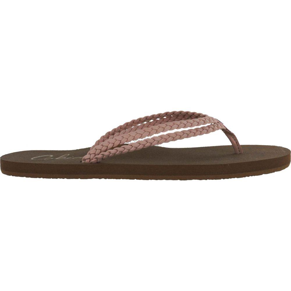 コビアン Cobian レディース ビーチサンダル シューズ・靴【Leucadia Flip Flops】Pink