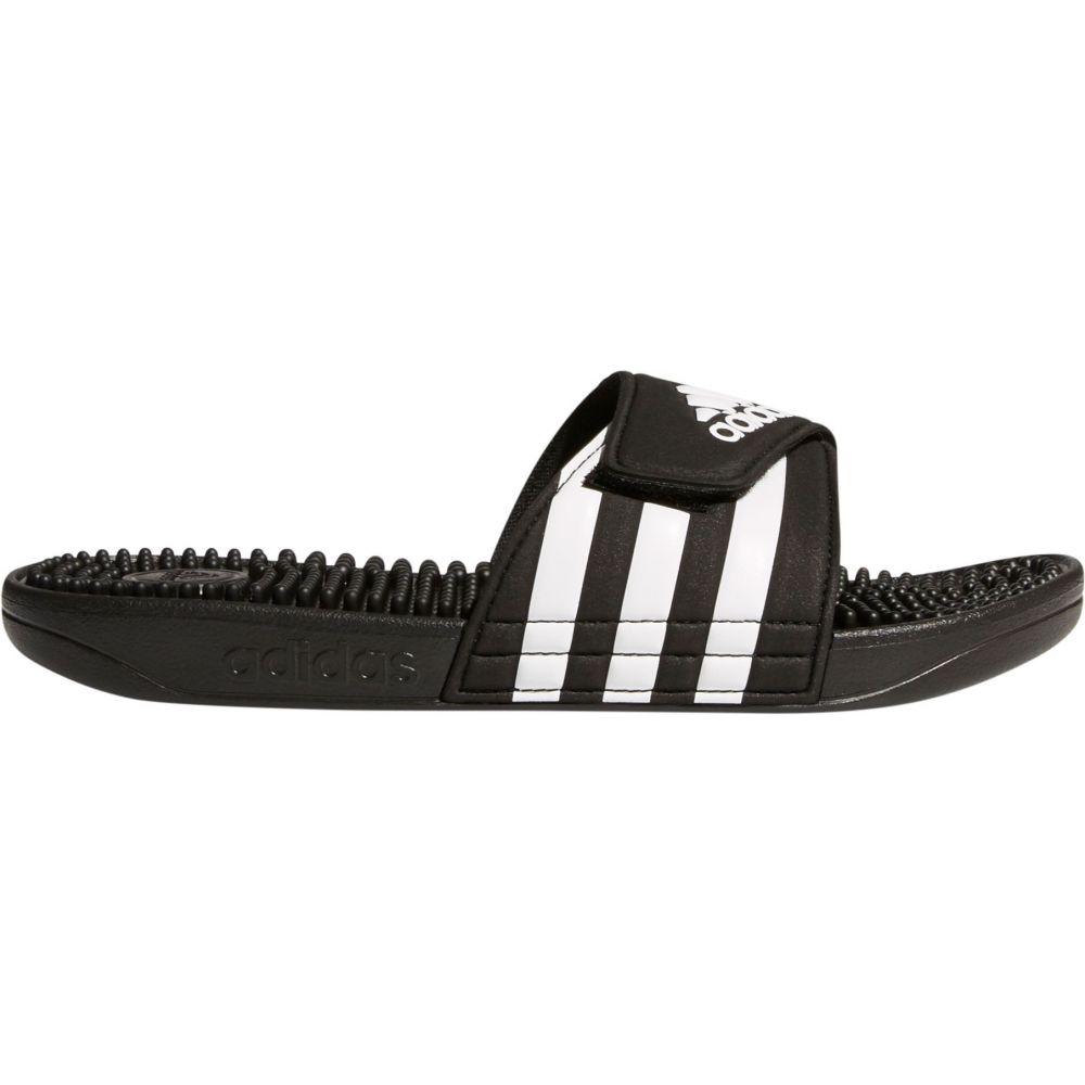 アディダス adidas レディース サンダル・ミュール シューズ・靴【Adissage Slides】Black/White