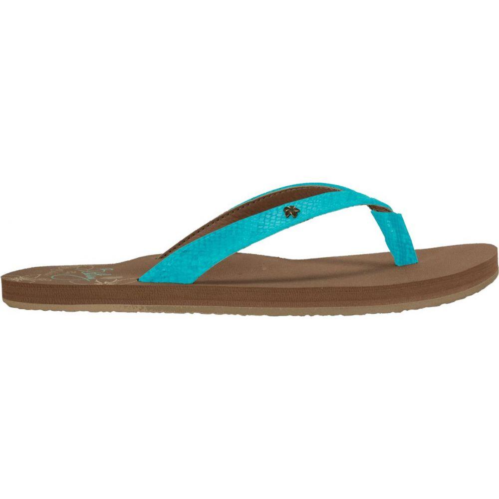 コビアン Cobian レディース ビーチサンダル シューズ・靴【The Bethany Hanalei Flip Flops】Seafoam