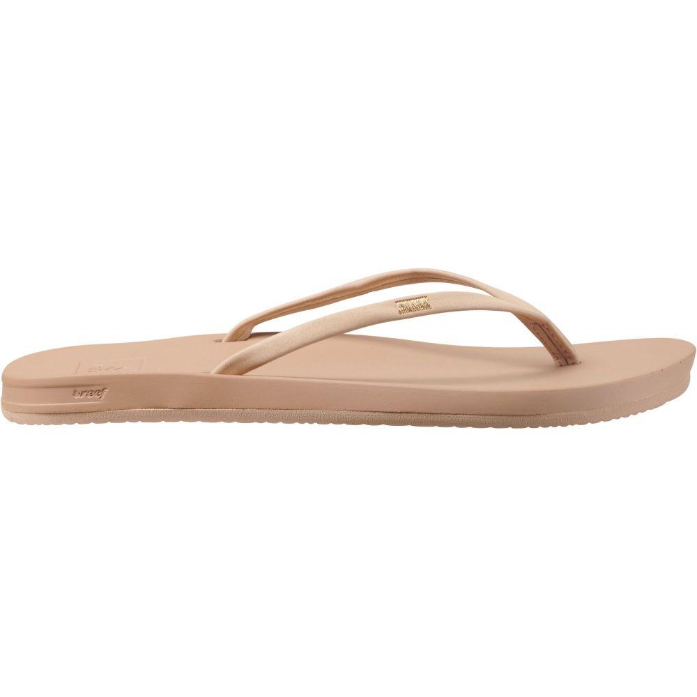 リーフ Reef レディース ビーチサンダル シューズ・靴【Cushion Bounce Slim Flip Flops】Nude