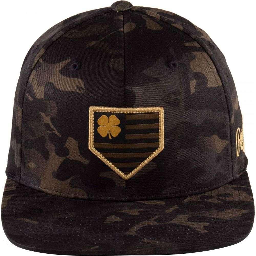 ブラック クローバー Black Clover ユニセックス キャップ ブリムハット 帽子Rawlings Multi Camo Flat Brim Hat Black CamoyNnwOmv08