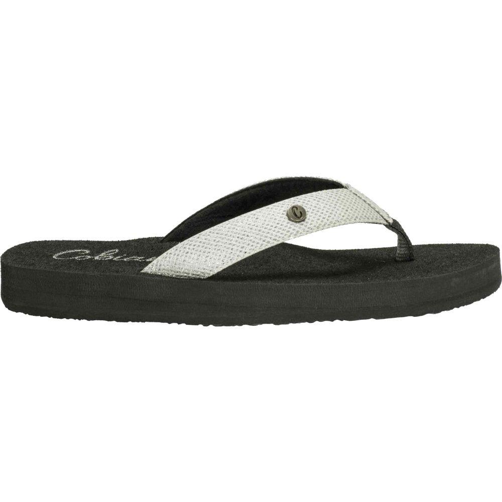 コビアン Cobian レディース ビーチサンダル シューズ・靴【Cancun Bounce Flip Flops】White