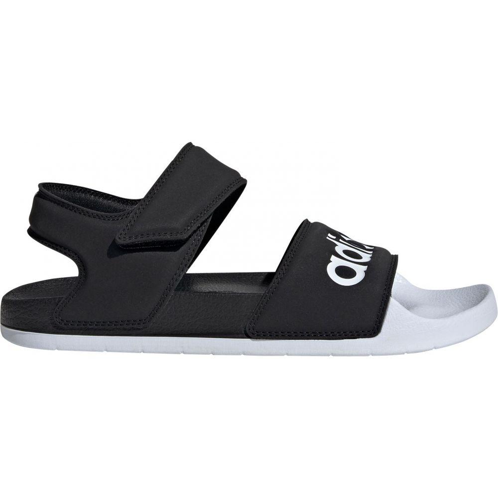 アディダス adidas レディース サンダル・ミュール シューズ・靴【Adilette Sandals】Black/White