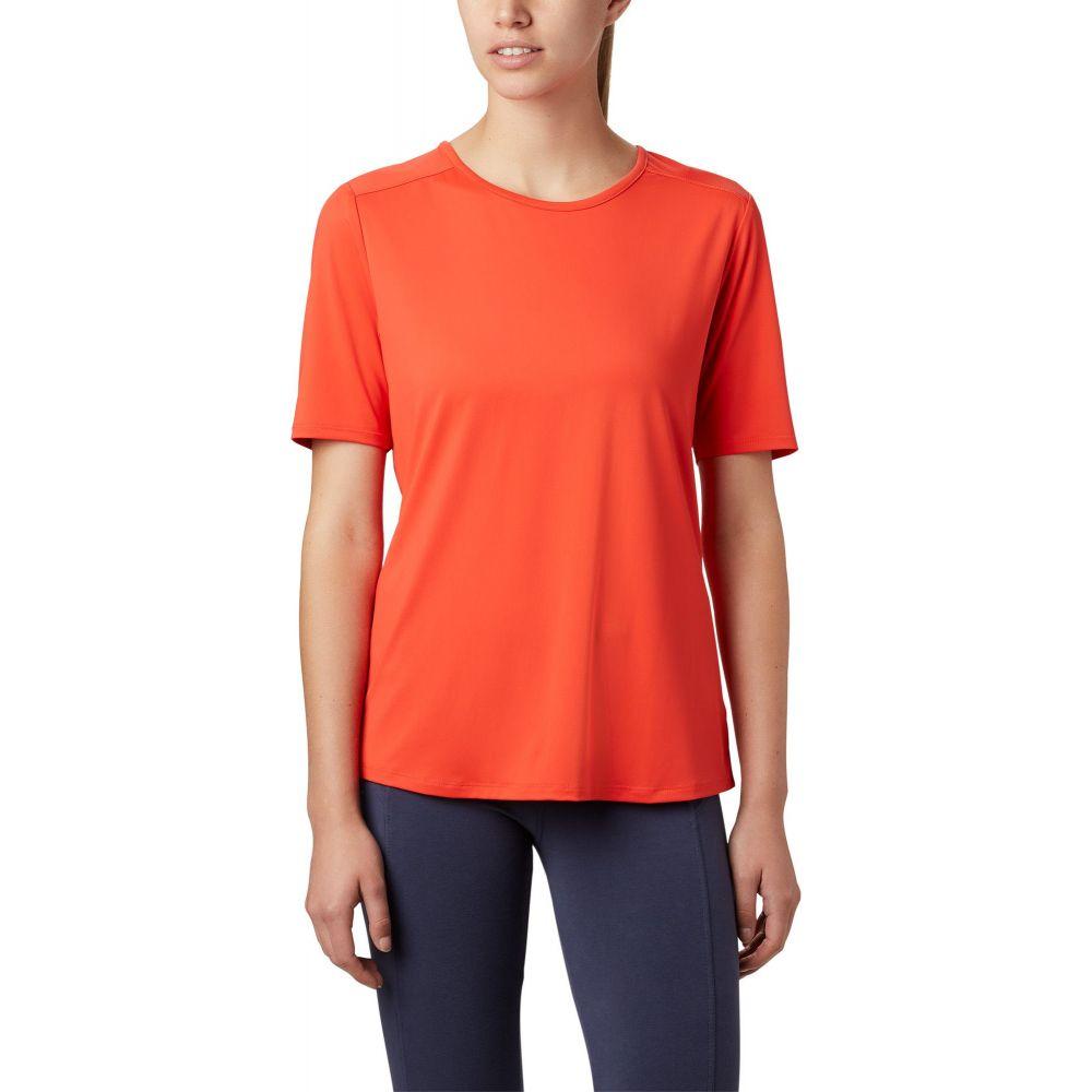 コロンビア Columbia レディース Tシャツ トップス【Chill River T-Shirt】Bright Poppy