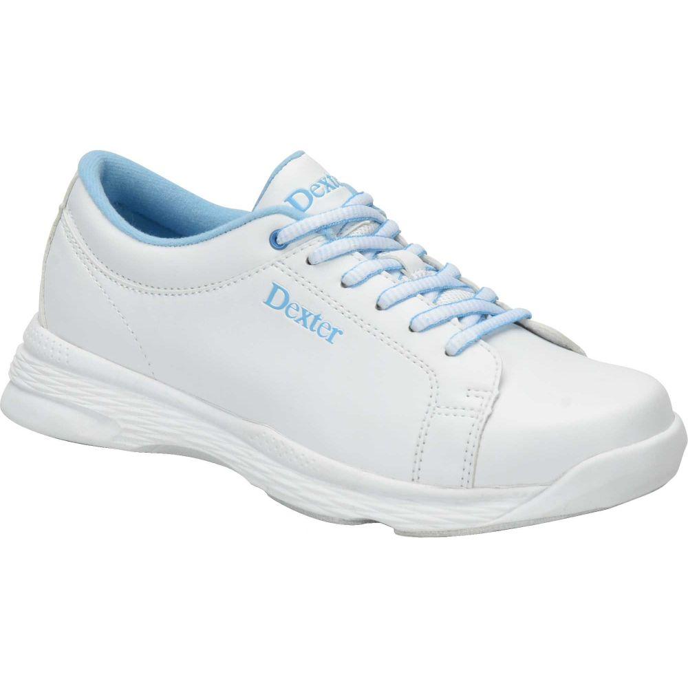 デクスター Dexter レディース ボウリング シューズ・靴【Raquel V Bowling Shoes】White/Blue