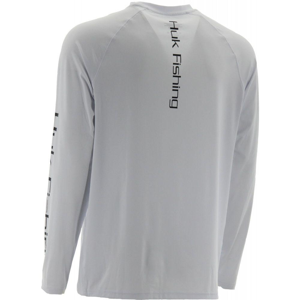 ハック HUK メンズ トップスHuk Pursuit Vented Long Sleeve ShirtRegular and BigTallWhitem0nN8w