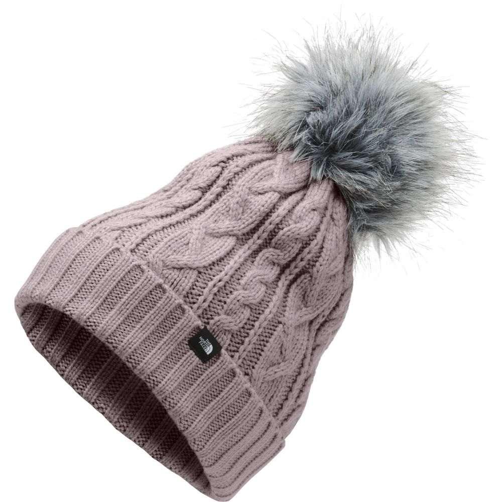 ザ ノースフェイス The North Face レディース ニット ポンポン ビーニー 帽子【Oh-Mega Fur Pom Beanie】Ashen Purple