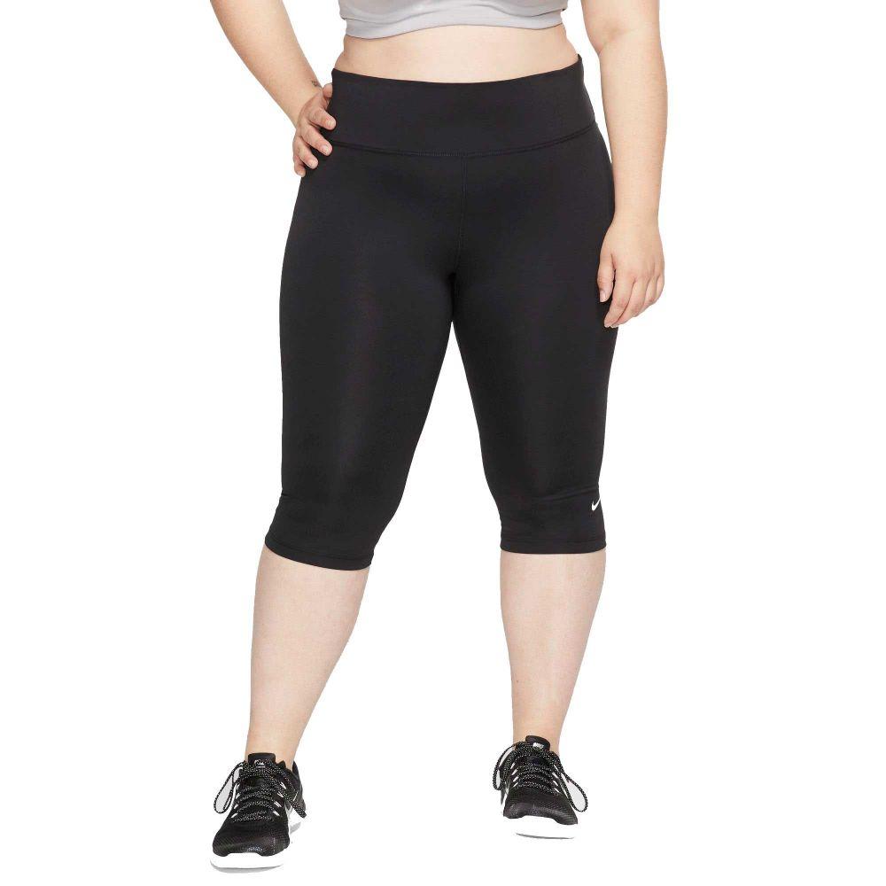 ナイキ Nike レディース フィットネス・トレーニング ボトムス・パンツ【One Capri Training Pants】Black
