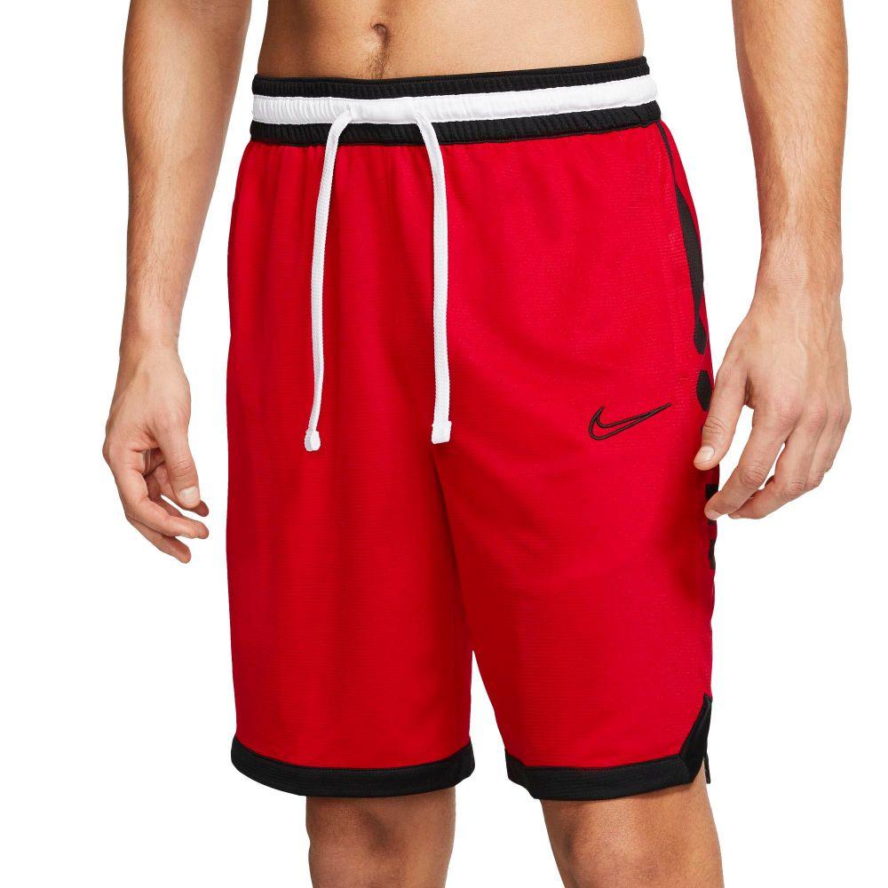 ナイキ Nike メンズ バスケットボール ドライフィット ショートパンツ ボトムス・パンツ【Dri-FIT Elite Basketball Shorts】University Red/Black