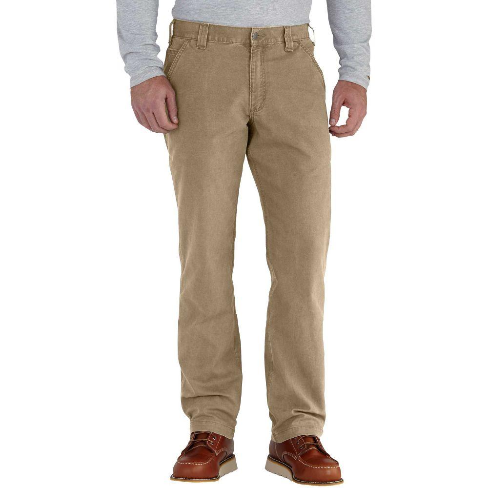 カーハート Carhartt メンズ ボトムス・パンツ ダンガリー【Rugged Flex Rigby Dungaree Pants (Regular and Big & Tall)】Dark Khaki