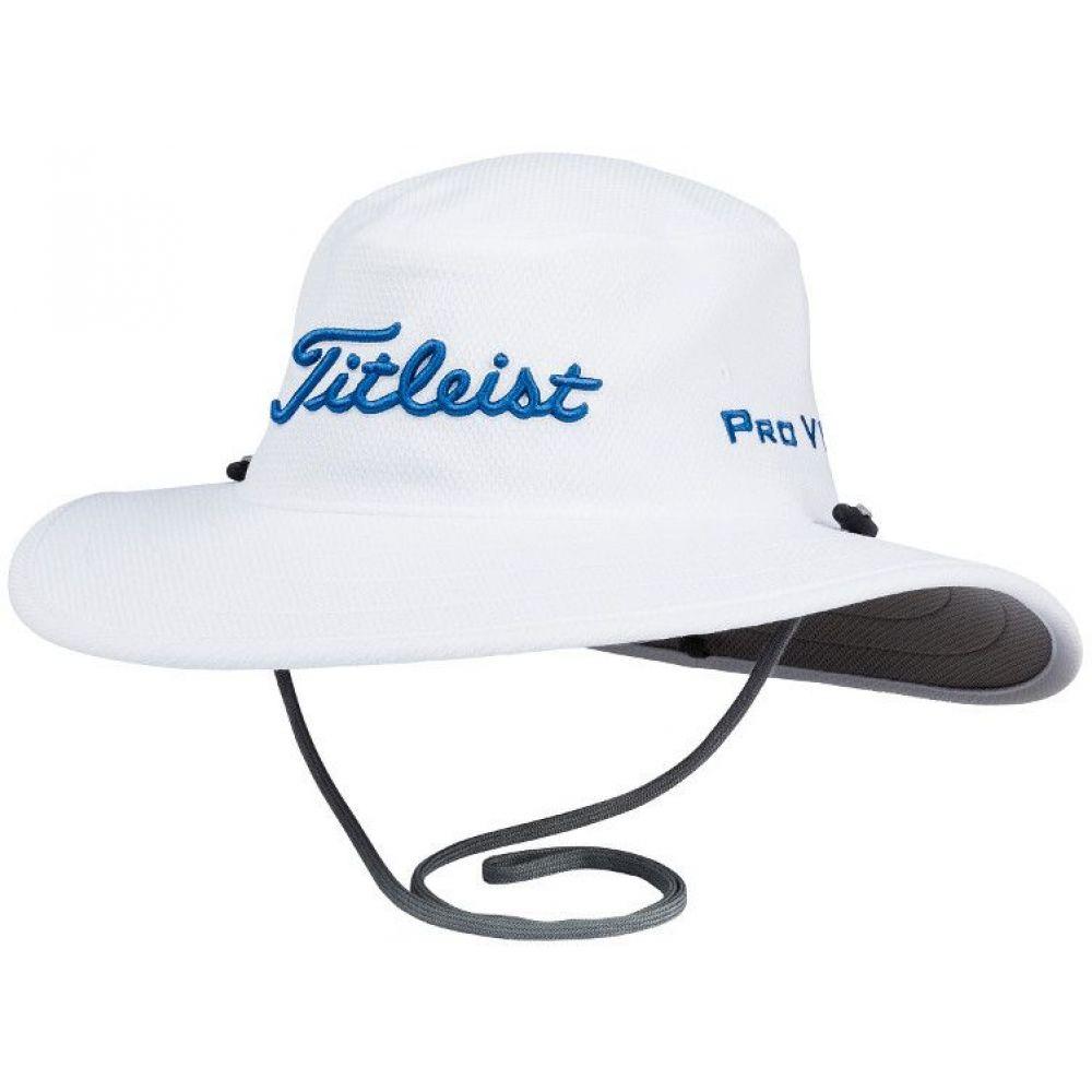 タイトリスト Titleist メンズ キャップ 帽子【Tour Aussie Golf Hat】White/Harbor Blue