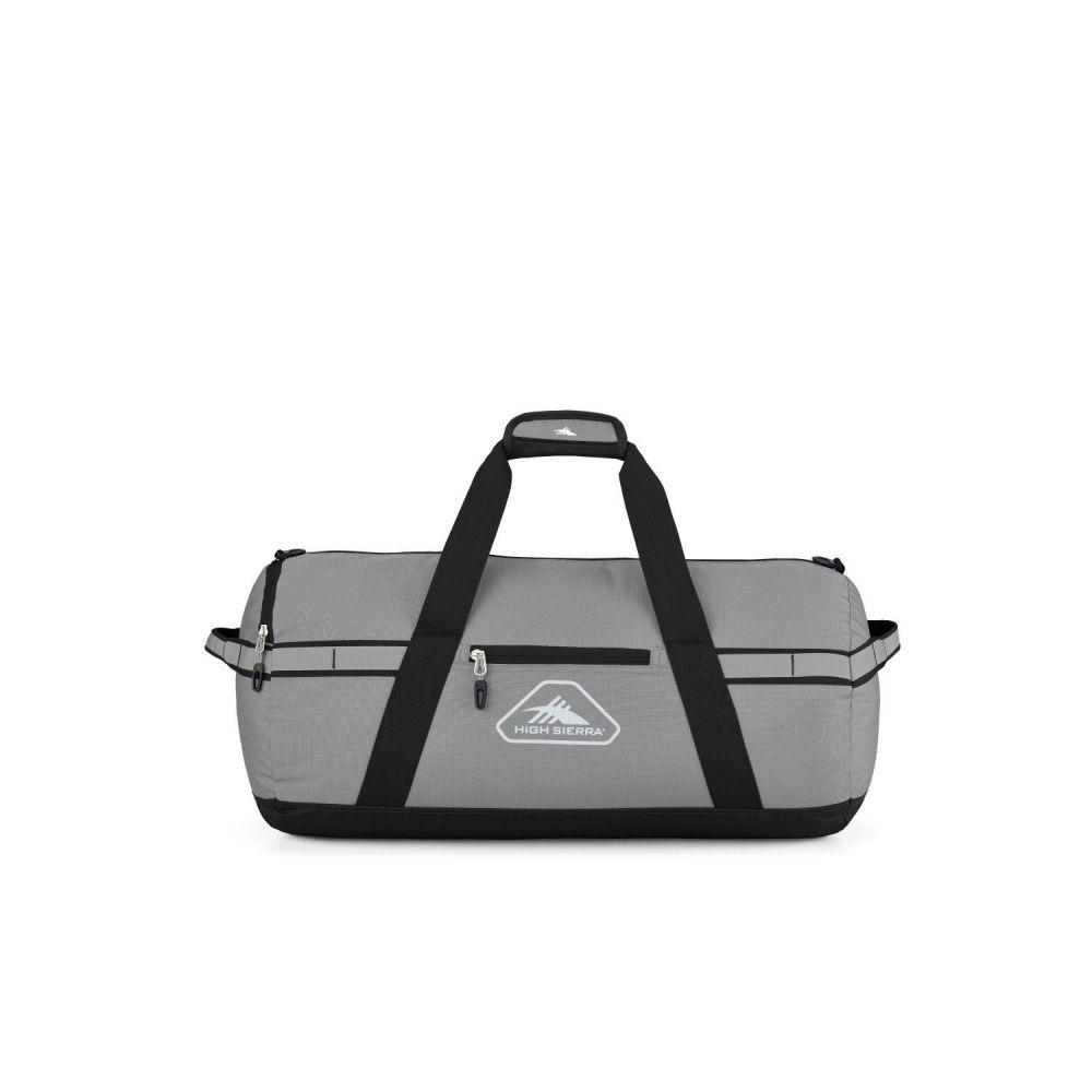 ハイシエラ High Sierra ユニセックス ボストンバッグ・ダッフルバッグ バッグ【Packed Small Cargo Duffel】Charcoal/Black