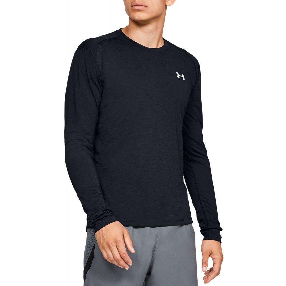 アンダーアーマー Under Armour メンズ トップス 【Streaker 2.0 Long Sleeve Shirt (Regular and Big & Tall)】Black/Black