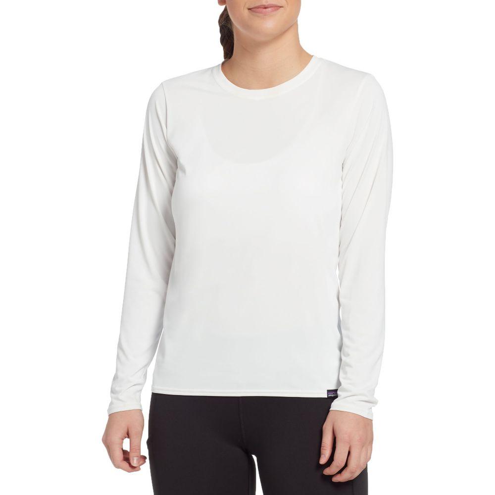 パタゴニア Patagonia レディース トップス 【Long-Sleeved Capilene Cool Daily Shirt】White