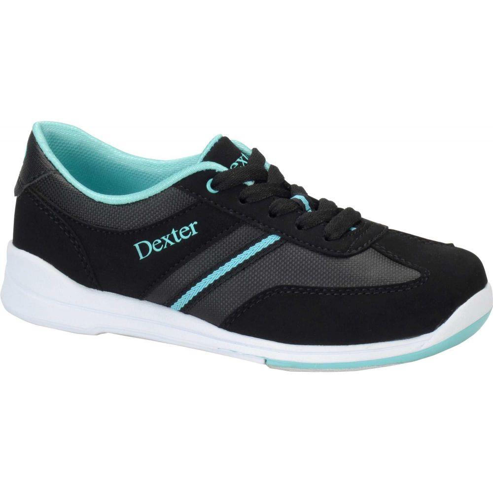 デクスター Dexter レディース ボウリング シューズ・靴【Dani Bowling Shoes】Black/Turquoise