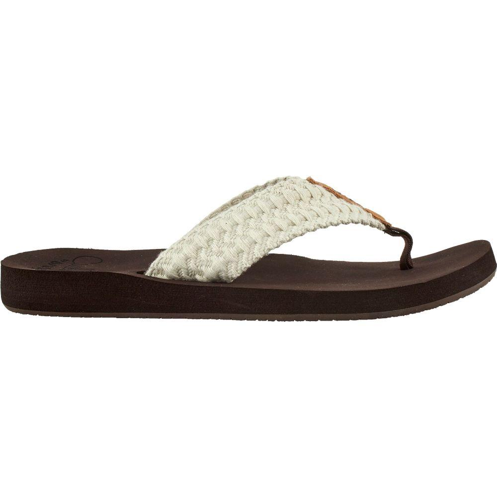 リーフ Reef レディース ビーチサンダル シューズ・靴【Cushion Threads Flip Flops】Vintage White