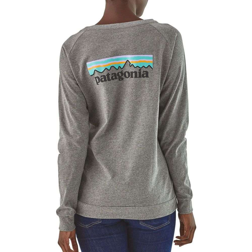 パタゴニア Patagonia レディース トップス 【Pastel P-6 Logo Responsibili-Tee Long Sleeve Shirt】Gravel Heather