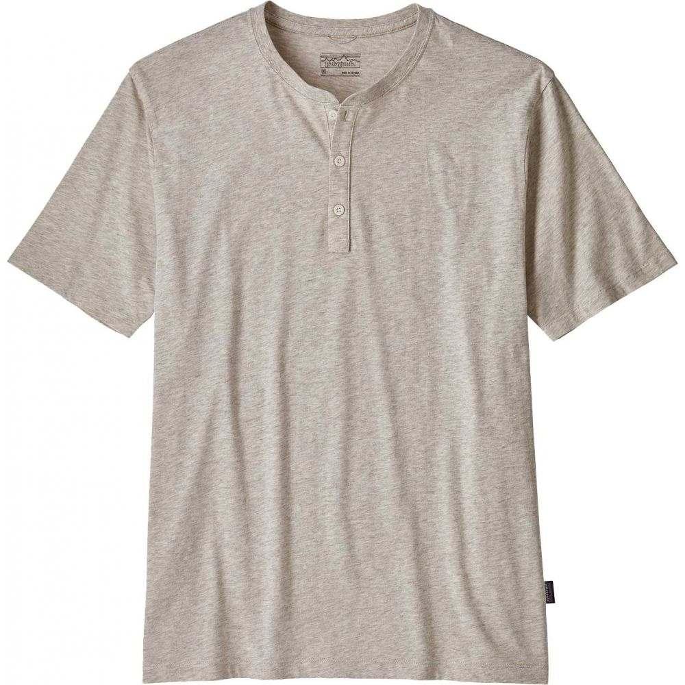 パタゴニア Patagonia メンズ Tシャツ ヘンリーシャツ トップス【Squeaky Clean Henley T-Shirt】Birch White