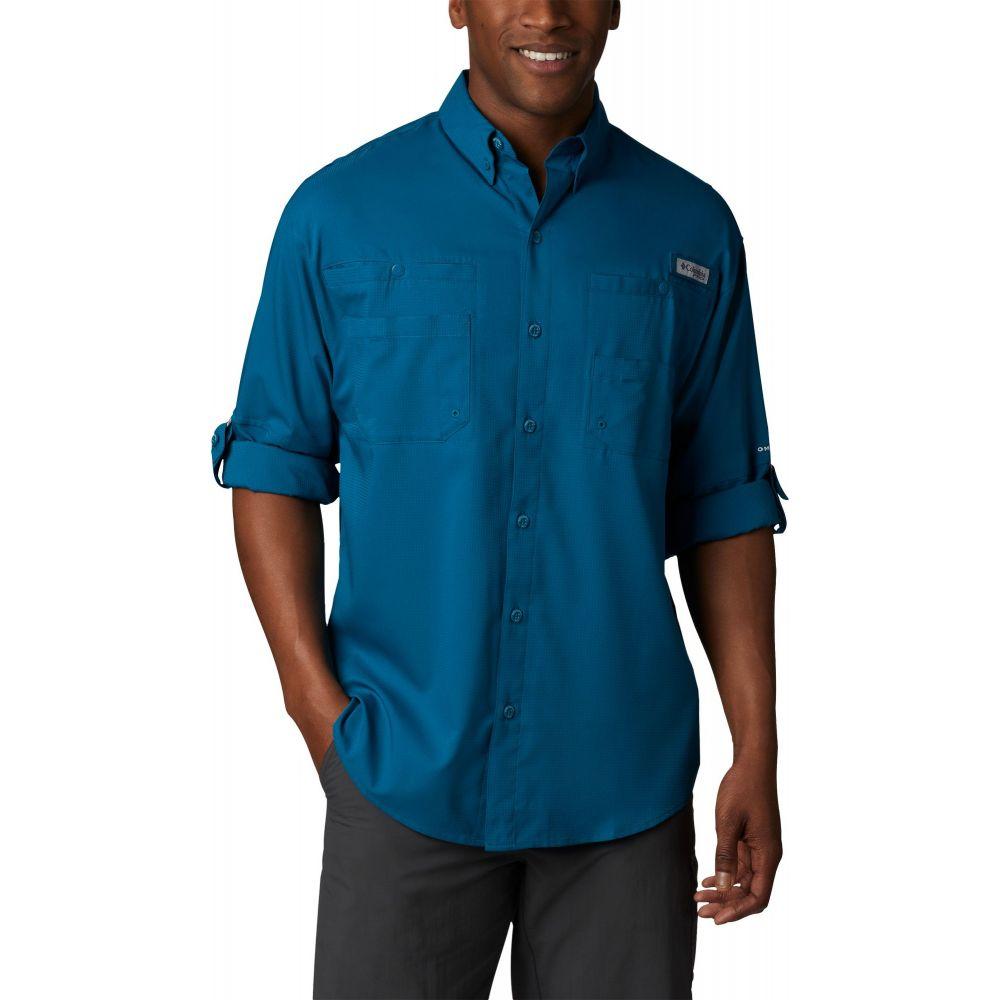 コロンビア Columbia メンズ トップス 【Tamiami II Long Sleeve Shirt (Regular and Big & Tall)】Dark Turquoise