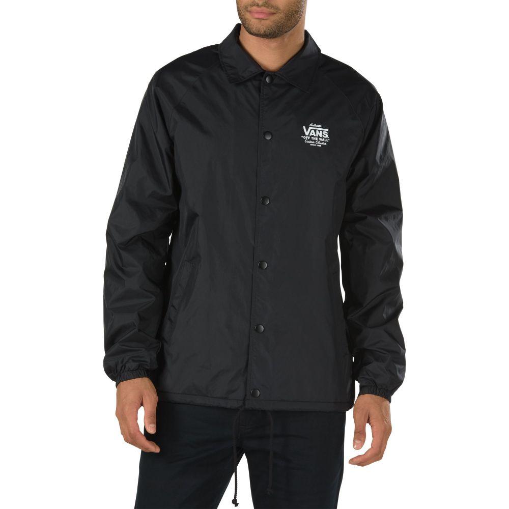 ヴァンズ Vans メンズ ジャケット コーチジャケット アウター【Torrey Coaches Jacket】Black/White