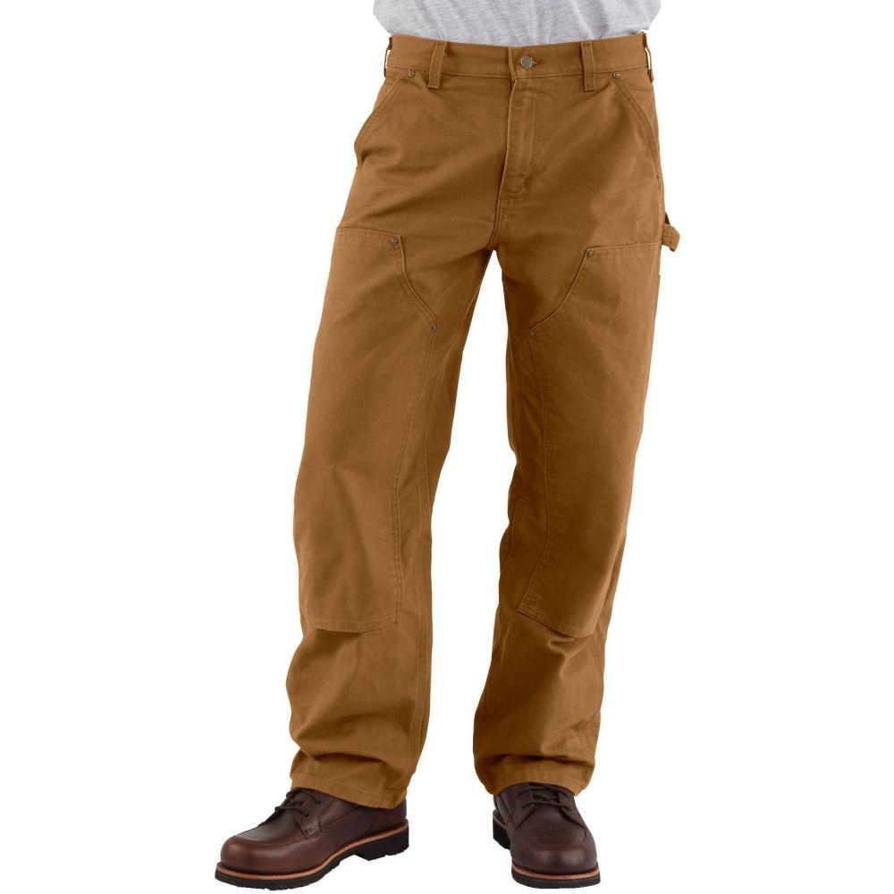 カーハート Carhartt メンズ ボトムス・パンツ ダンガリー【Double Front Work Dungarees (Regular and Big & Tall)】Carhartt Brown