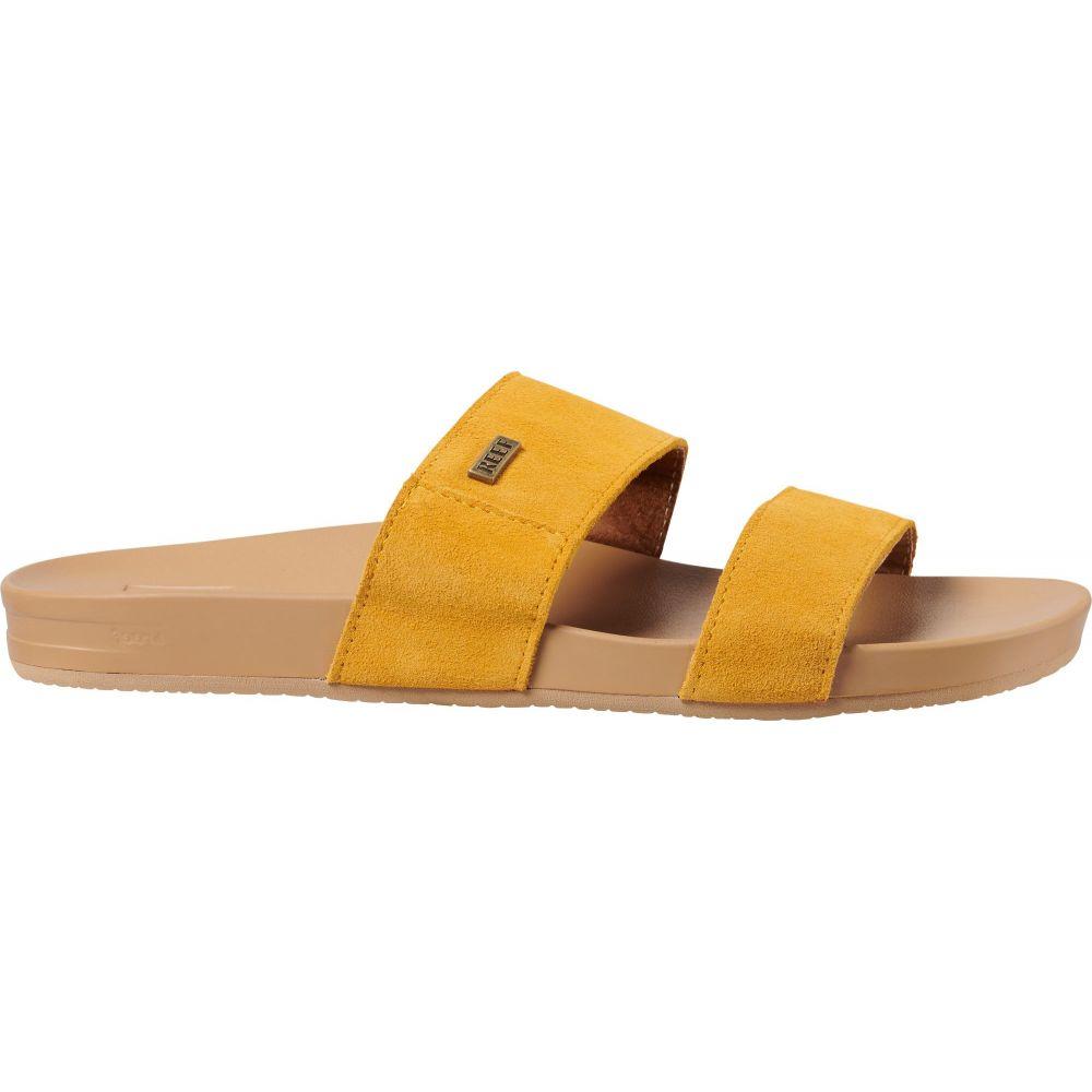 リーフ Reef レディース サンダル・ミュール シューズ・靴【Cushion Bounce Vista Suede Sandals】Mustard