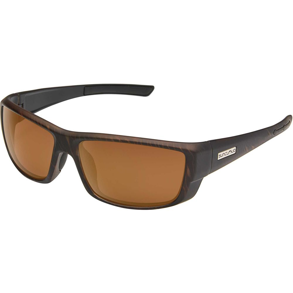 サンクラウド SUNCLOUD OPTICS メンズ メガネ・サングラス 【Suncloud Optics Lock Polarized Sunglasses】Burnished Brown/Brown