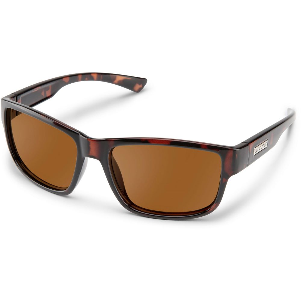サンクラウド SUNCLOUD OPTICS ユニセックス メガネ・サングラス 【Suncloud Suspect Polarized Sunglasses】Havana/Brn Pol